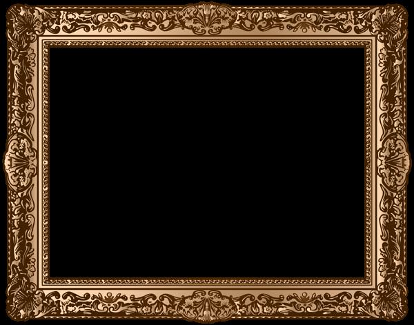 دانلود قاب عکس چوبی برای فتوشاپ PNG