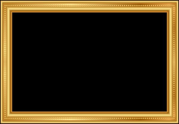 دانلود قاب عکس چوبی مستطیلی برای فتوشاپ