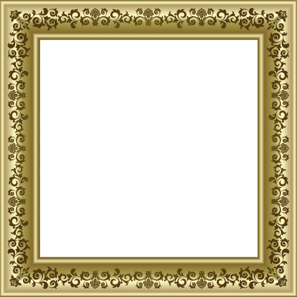 دانلود قاب عکس چوبی تذهیبی برای فتوشاپ